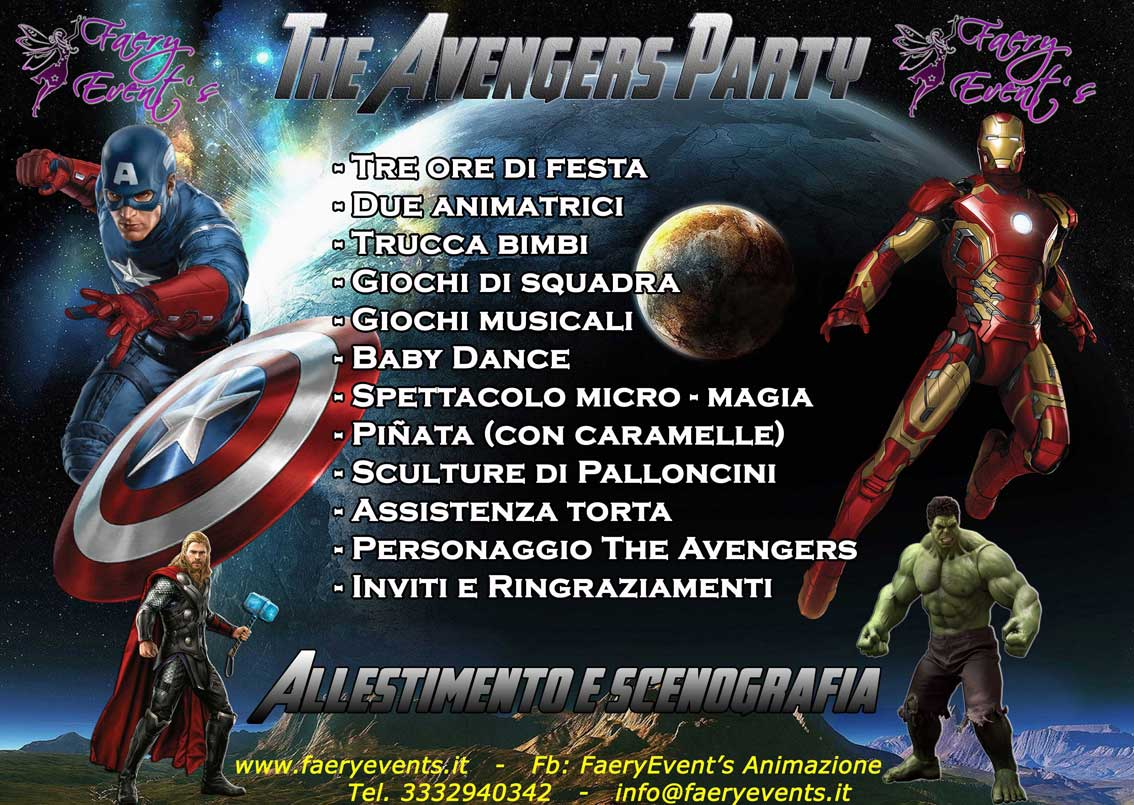 AVENGERS-PARTY