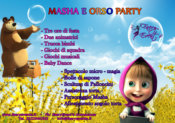 MASHA-E-ORSO-PARTY